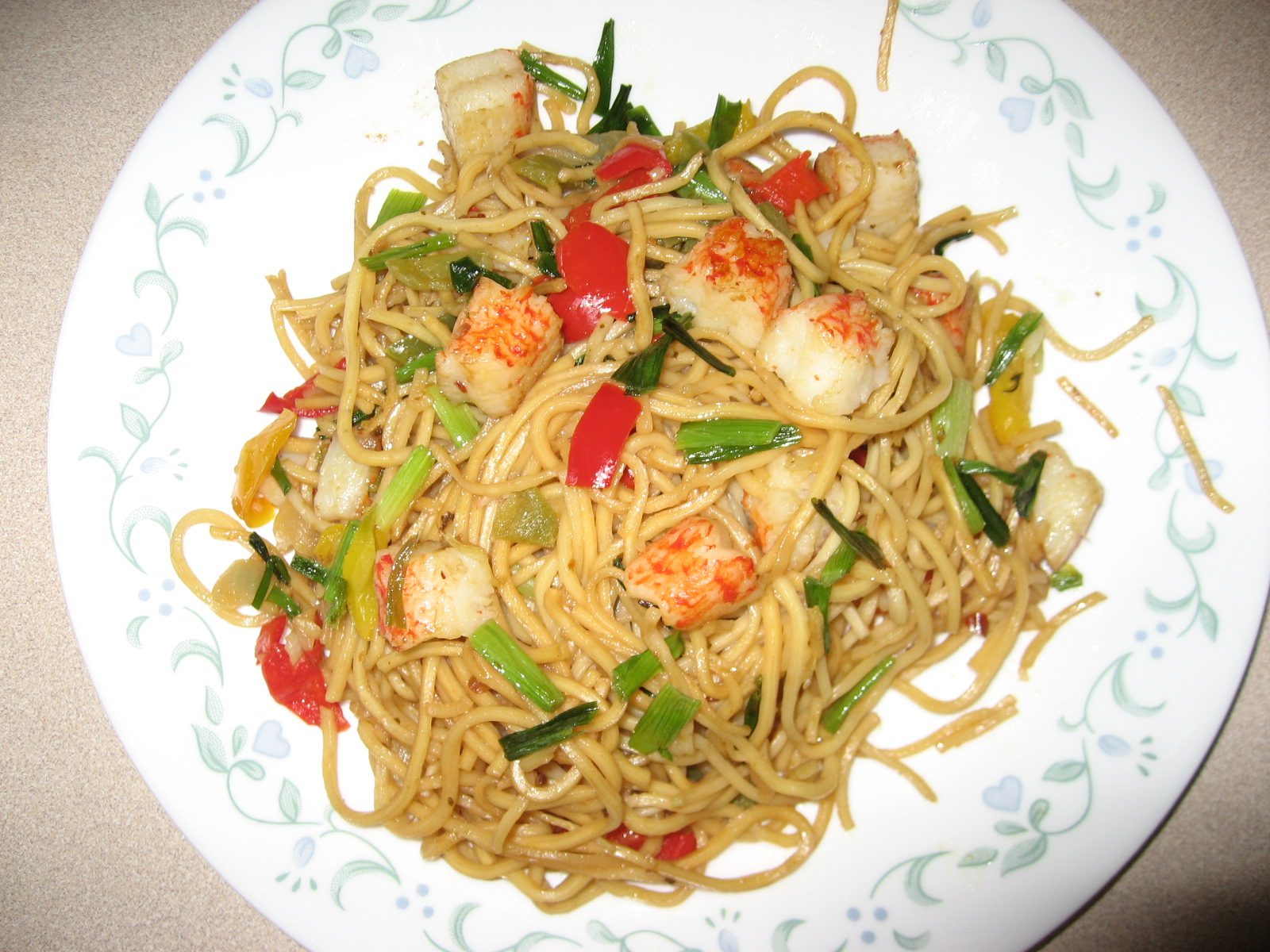 Weekend Recipe Romzy Noodles Kamdora