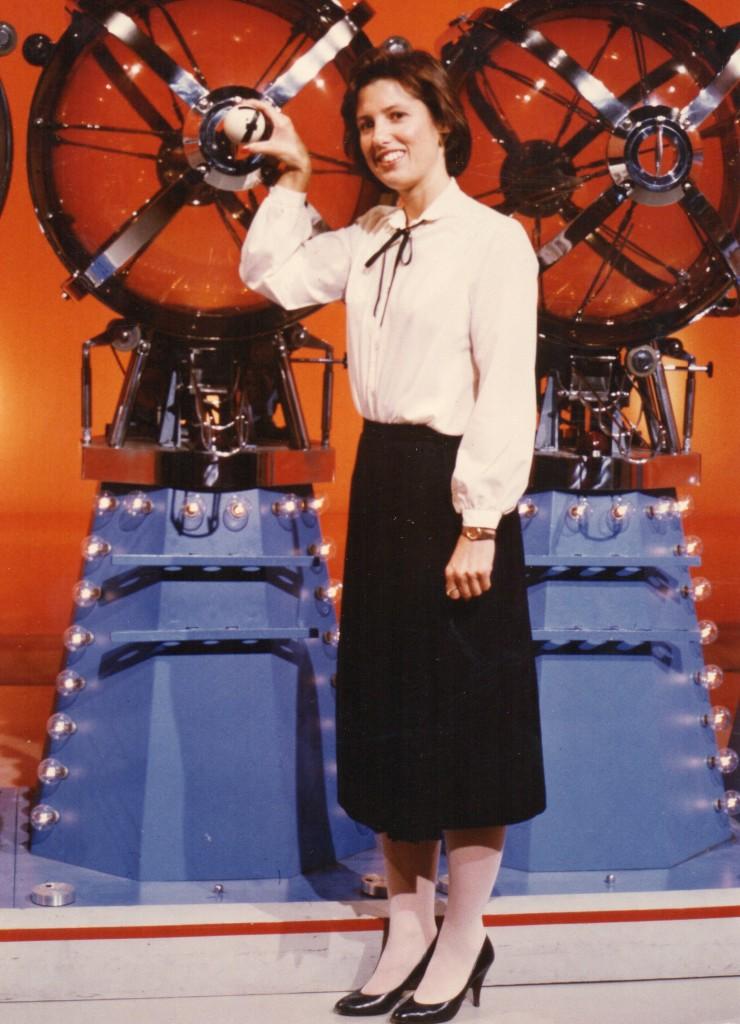 Spring Gillard, Ball Girl, Wester Canada Lottery, 1985